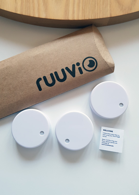 Pack of 3 RuuviTags