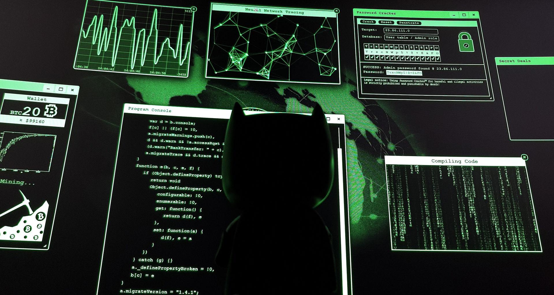 Batman hacker