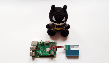 Batman, Raspberry Pi and PMS7003