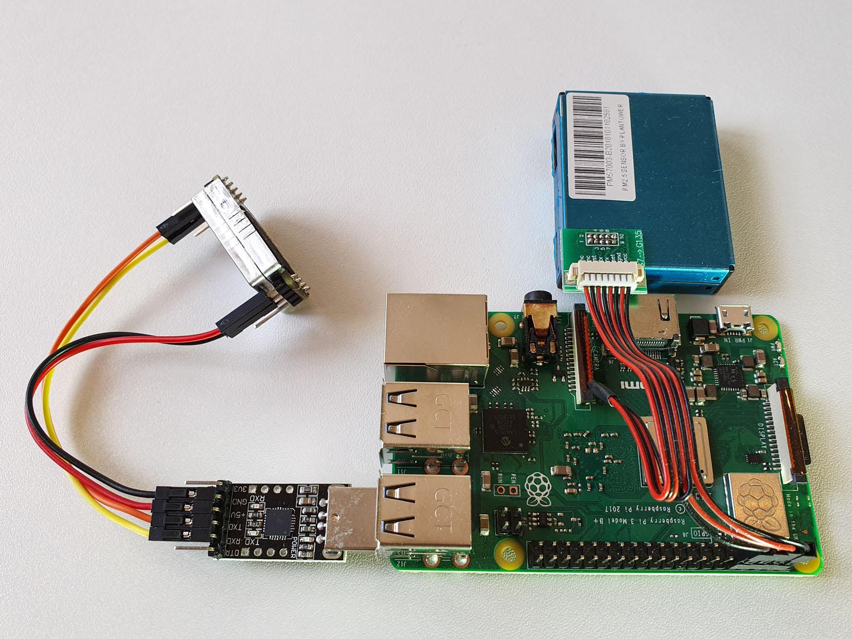 Senseair S8 with a Raspberry Pi
